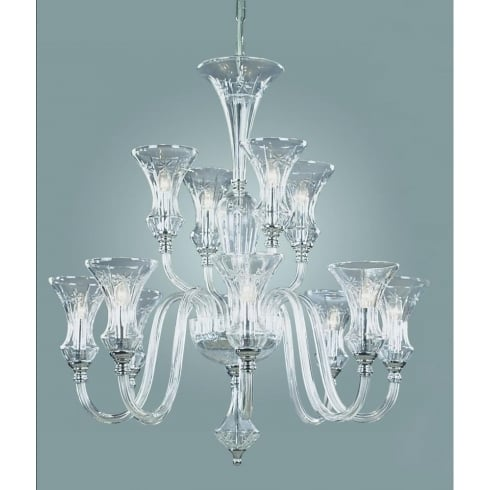 Impex Russell STARA CB05444/12 Crystal Chandelier