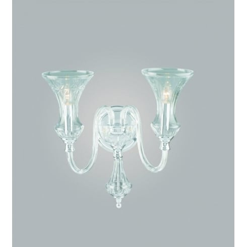 Impex Russell STARA CB05444/02/WB Crystal Wall Light