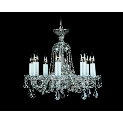 Impex Russell BELA CB125936/00/08 Crystal Chandelier