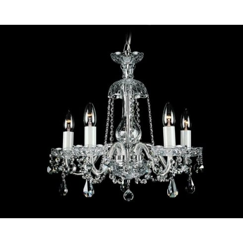 Impex Russell BELA CB125936/00/05 Crystal Chandelier