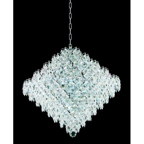 Impex Russell DIAMOND CE01081/18/CH Polished Chrome Pendant
