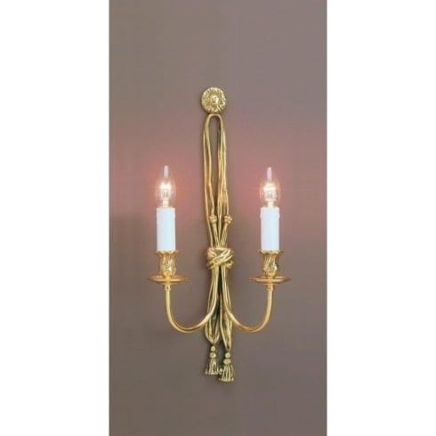 Impex Russell RICHMOND SMBB00012B/PB Polished Brass Wall Light