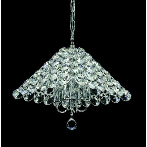 Impex Russell NAPLES CFH911171/04/CH Polished Chrome Pendant