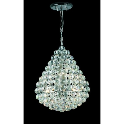 Impex Russell MARSEILLE CE05340/08/CH Polished Chrome Pendant