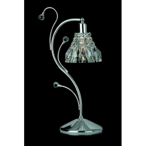 Impex Russell STRASBOURG CE00031/TL/CH Polished Chrome Table Lamp