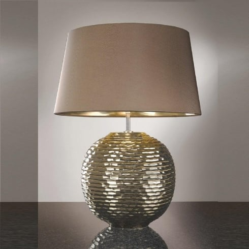 Elstead Lighting Caesar Gold Table Lamp