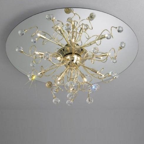 Kolarz UK Ltd Polaris 1113.112.3.SPT Gold Ceiling Light