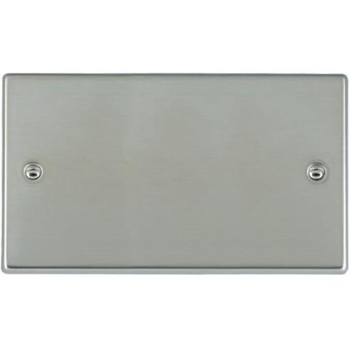 Hamilton Litestat Hartland 73BPD Bright Chrome Double Blank Plate