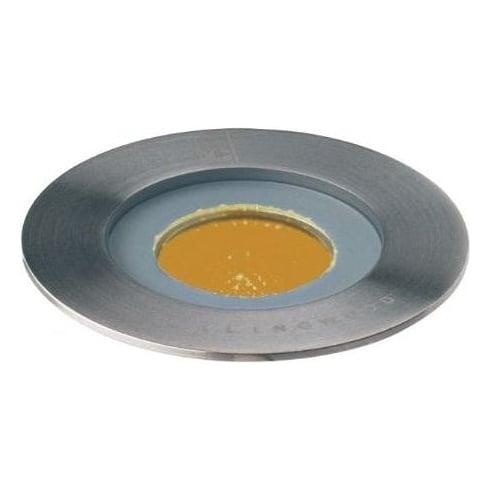 Collingwood Lighting GL016 F AMBER Stainless Steel LED Ground Light
