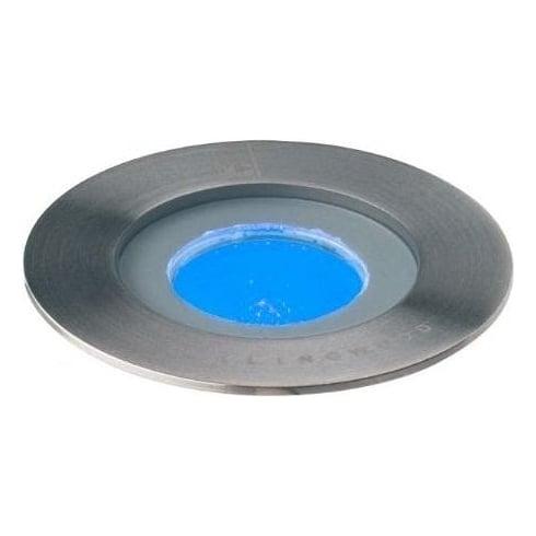 Collingwood Lighting GL016 F BLUE Stainless Steel LED Ground Light