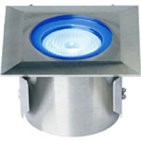 Collingwood Lighting GL016 SQ BL Stainless Steel LED Ground Light