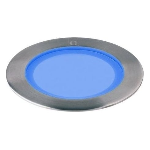 Collingwood Lighting GL050 BLUE Stainless Steel LED Ground/Marker Light