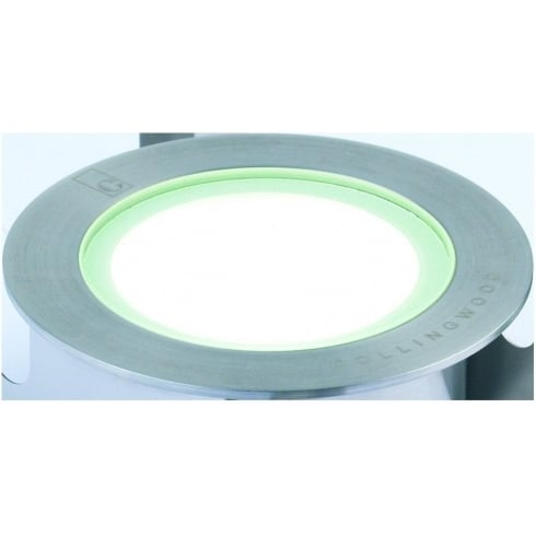 Collingwood Lighting GL050 WARM WHITE Stainless Steel LED Ground/Marker Light
