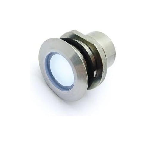 Collingwood Lighting GL018 T WH Stainless Steel Panel Mount LED Marker Light Small