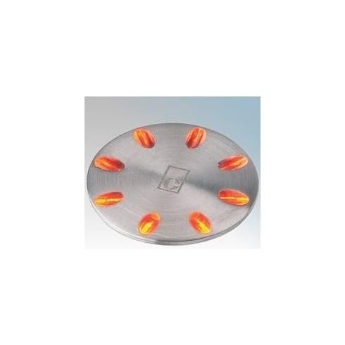 Collingwood Lighting ML01 AMBER Stainless Steel LED Ground Light Mini