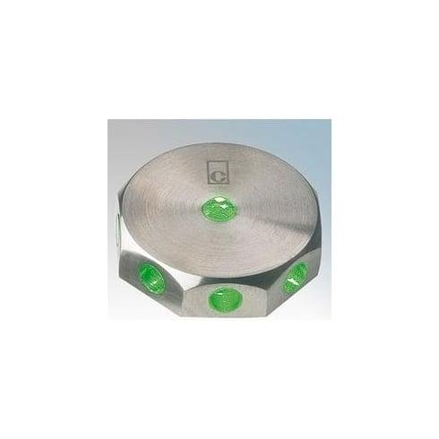 Collingwood Lighting ML02 GREEN Stainless Steel LED Wall Light Mini