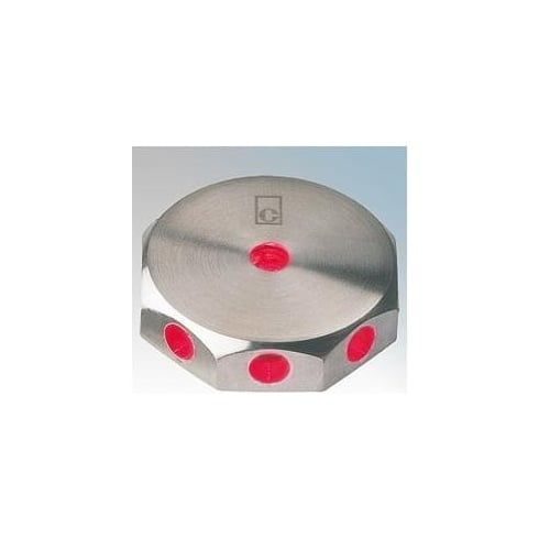 Collingwood Lighting ML02 RED Stainless Steel LED Wall Light Mini