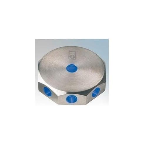 Collingwood Lighting ML02 BLUE Stainless Steel LED Wall Light Mini