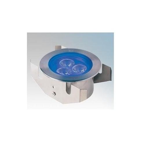 Collingwood Lighting GL040 S BLUE Stainless Steel LED Ground Light