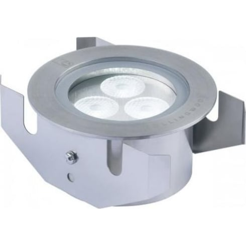 Collingwood Lighting GL040 F WARM WHITE Stainless Steel LED Ground Light