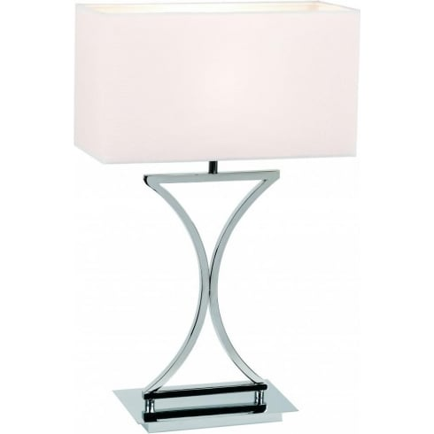 Endon Lighting 96930-TLCH Chrome Table & Desk Lamp