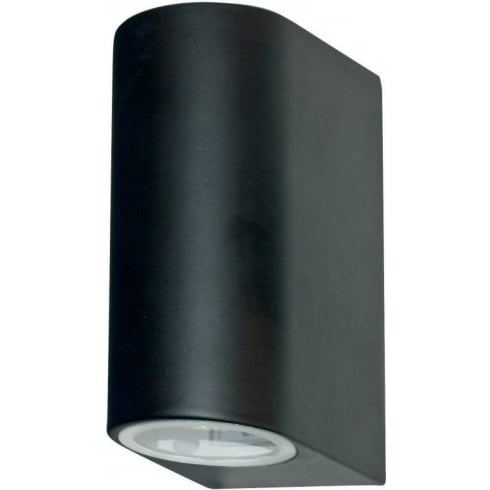 Searchlight Electric Outdoor 8008-2BK Black Wall Light Large