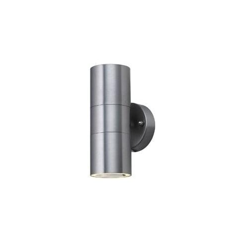 Searchlight Electric 5008-2 Outdoor Stainless Steel U and Down Wall Light