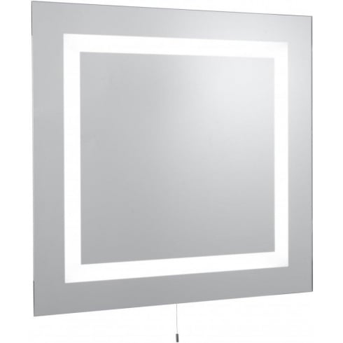 Searchlight Electric 8510 Glass Illuminated Bathroom Mirror Wall Mounted