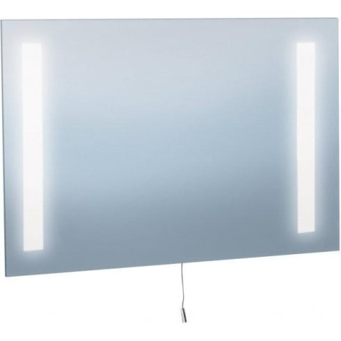 Searchlight Electric 3227 Glass Illuminated Bathroom Mirror Wall Mounted