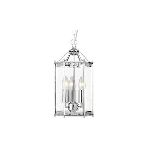 Searchlight Electric 2273CC Chrome And Glass Lantern