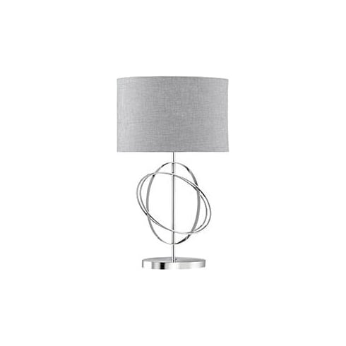 Searchlight Electric Metal 1514CC Chrome Table Lamp