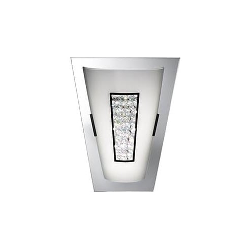 Searchlight Electric Wall 3773 Chrome And Crystal Wall Light