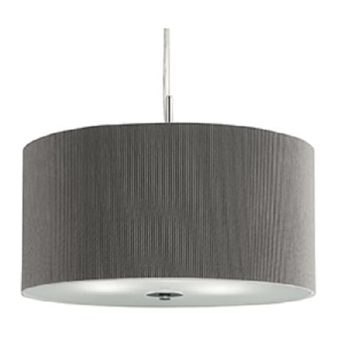 Searchlight Electric 2353-40SI Chrome And Glass Pendant