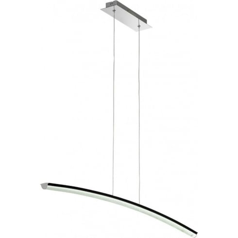 Endon Lighting Coburn COBURN-BAR-BL Black Pendant Ceiling Light