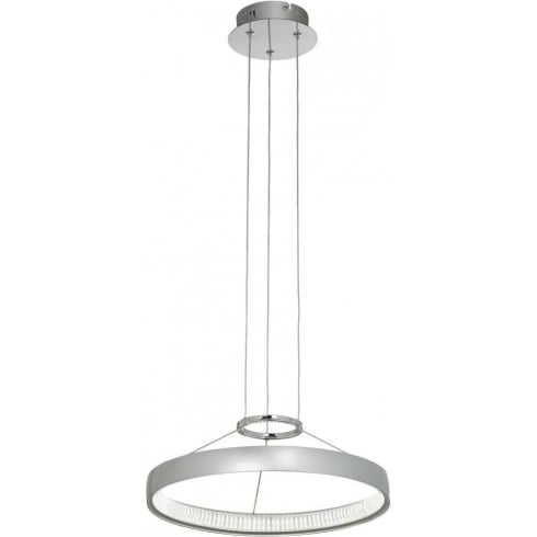 Endon Lighting Coburn COBURN-P-CH Aluminium Pendant Ceiling Light