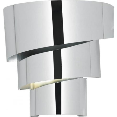 Endon Lighting Everett EVERETT-1WBCH Polished Chrome Wall Light