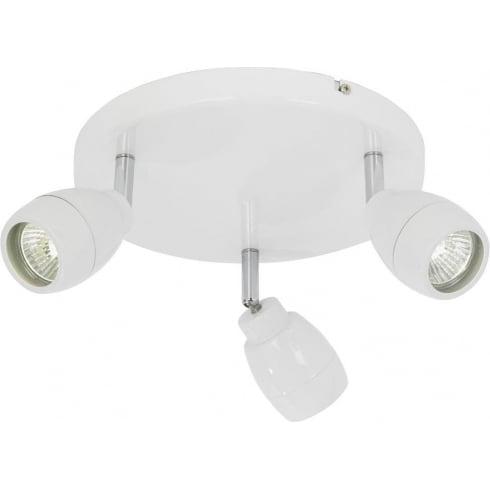 Endon Lighting EL-20095 White Bar Spotlight