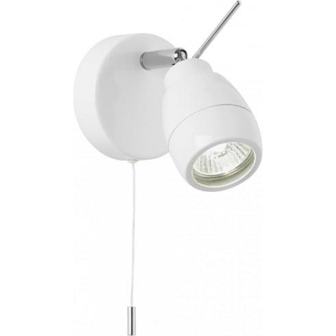 Endon Lighting EL-20093 White Wall Spotlight