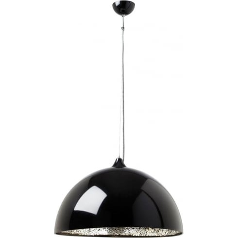Endon Lighting Bardem BARDEM-BL Black Pendant Ceiling Light