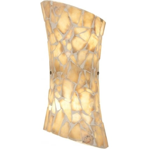 Endon Lighting Marconi MARCONI-2WBNA Natural Wall Light