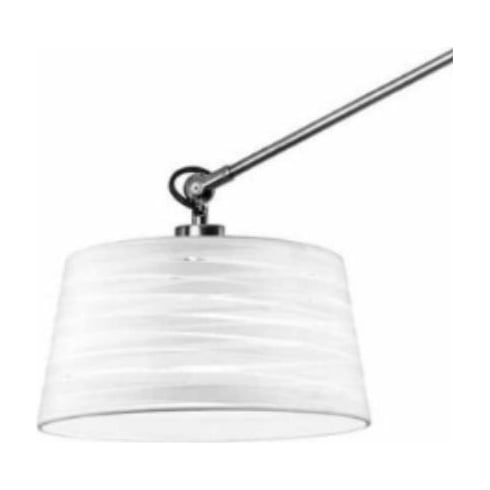 LedsC4 Lighting PAN-219-14 White Magma Cotton Shade