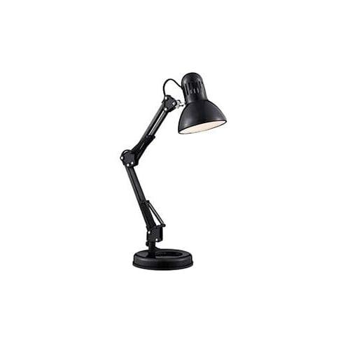 Searchlight Electric 2429BK Shiny Black Hobby Table Lamp
