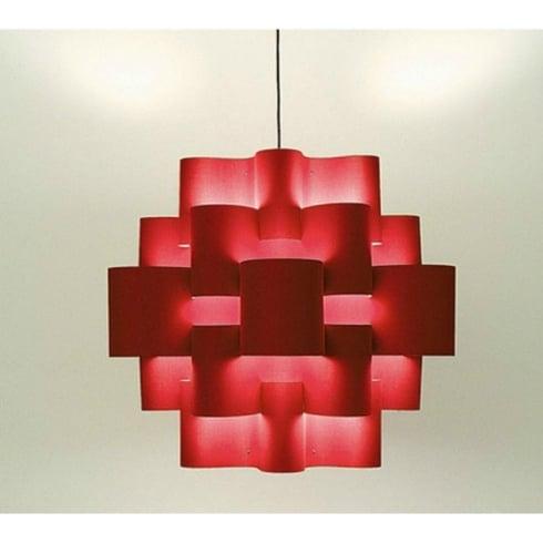 Karboxx Light Sun 50 05SPRD50S Red Pendant Ceiling Light