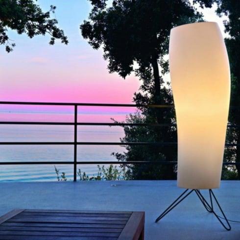 Karboxx Light Warm 08WAOT01 White Floor Lamp Outdoor