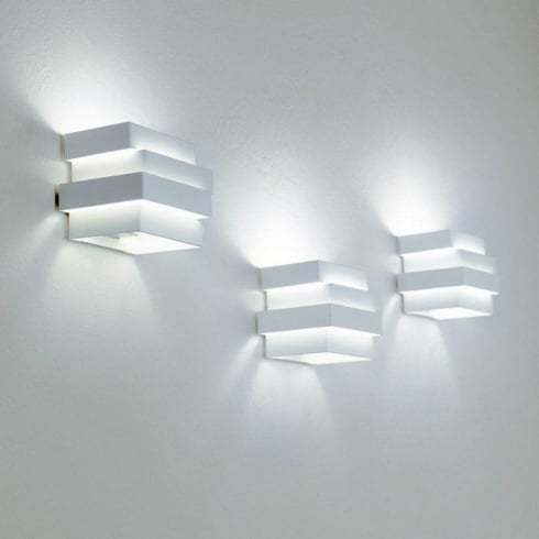 Escape 12PAWH14 White Surface Wall Light Cube