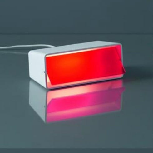 Karboxx Light Boxx 06WHRD01 Red Table Lamp