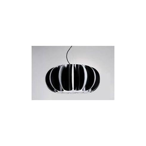 LedsC4 Lighting Blomma 00-4391-BW-05 Black Modern Pendant by Grok