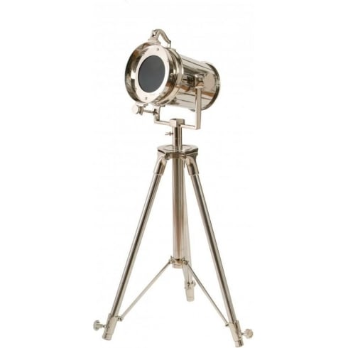 Libra Company The Tripod Spotlight 037582 Silver Floor Standing Lamp