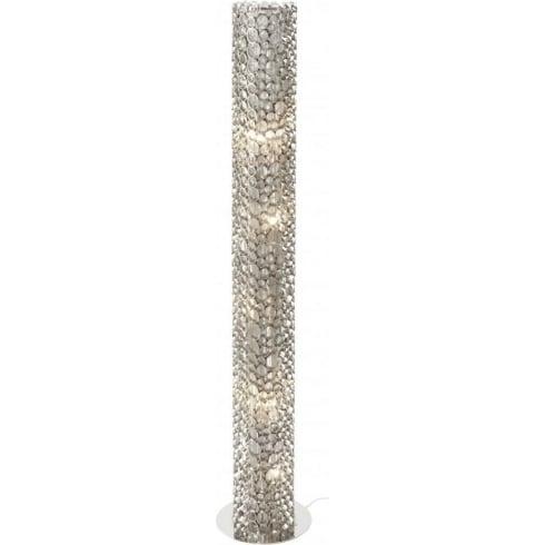 Libra Company Venus Nickel Tube 136979 Floor Standing Lamp