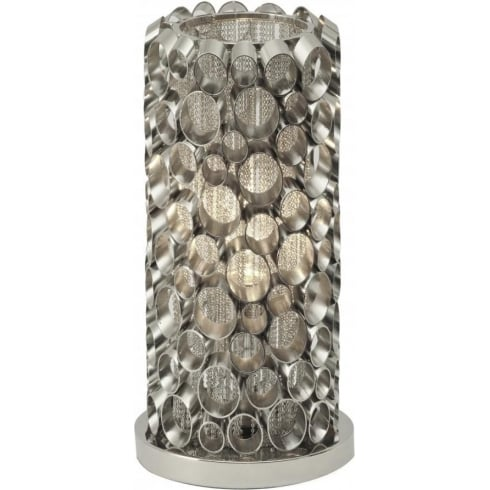 Libra Company Venus Nickel Tube 136978 Table Lamp